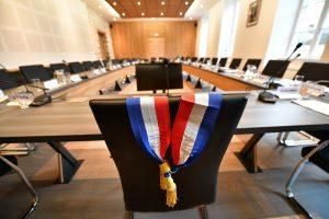 ©PHOTOPQR/LA MONTAGNE/Agnès GAUDIN ; ; 12/03/2020 ; illustration élections municipales 2020 ,au prochain conseil municipal le maire sera élu.Photo agnès Gaudin (MaxPPP TagID: maxnewsworldfive074948.jpg) [Photo via MaxPPP]